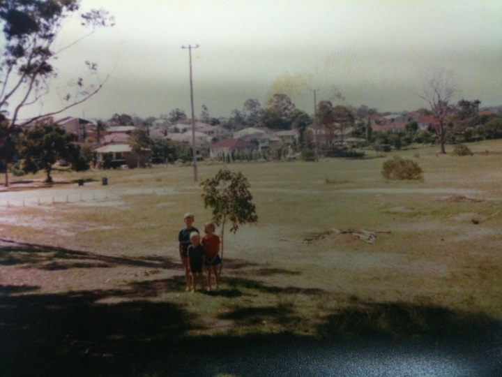 Everton Park Rugby Union Club (Pre-Clubhouse) circa 1976/77